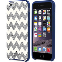 Flexible Hardshell Case for iPhone 6/6s - Chevron Silver Glitter - Verizon Wireless