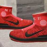 "Nike Air Force One ""Red"" Hight TOP Sneaker"