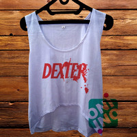 Dexter crop tank Women's Cropped Tank Top