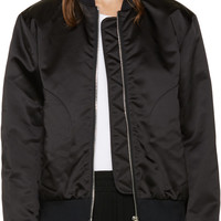 Black Azura Bomber Jacket