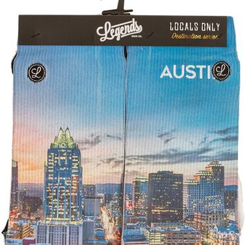 Locals Only Series - Austin Skyline Socks | University Co-op