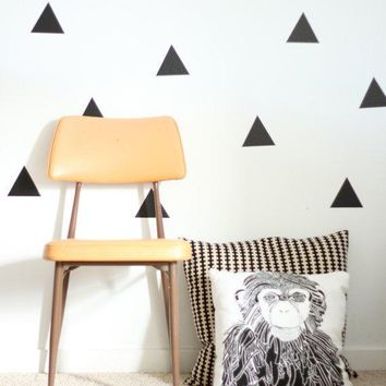 Vinyl Wall Sticker Decal Art   Triangles