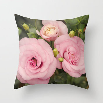 Scent With Love Throw Pillow by Carol Knudsen Photographic Artist