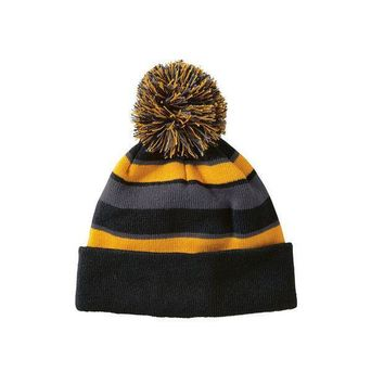 Holloway 223835?comeback Beanie   Black Light Gold Graphite