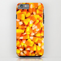 Candy Corn iPhone Case iPod Touch 6 Plus 5c 5s 4 4s 3g 3gs Hard Phone Cover Fine Art Unique Gift Fall Halloween Seasonal Orange Yellow
