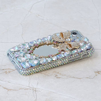 Pearl Bow Mirror Design (style 467)