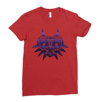 Majoras Mask Ladies Fitted T-Shirt