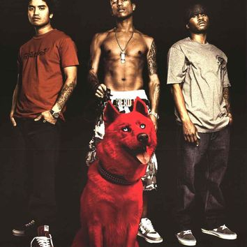 N.E.R.D. Rap Group 2004 Poster 22x34