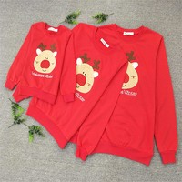 Family Matching Outfits Casual Sweater -Christmas Deer