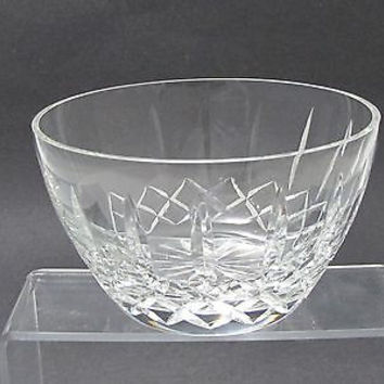 Hand cut lead  Crystal bowl, Can be customized glass