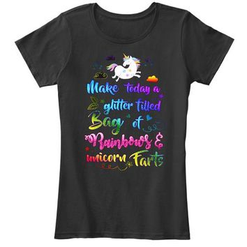 Awesome Unicorn Farts T Shirt
