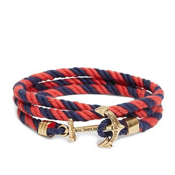 Kiel James Patrick Lanyard Hitch Cord Bracelet - Brooks Brothers