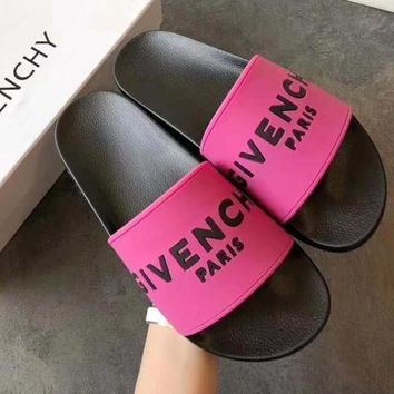 Givenchy Women Fashion Casual Slipper Shoes-1