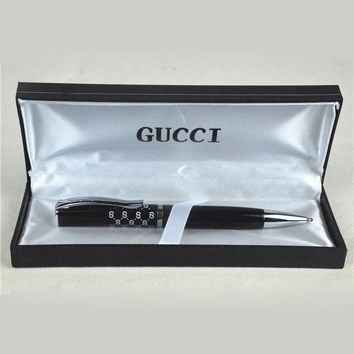 PEAPNQ2 GUCCI Pen Luxury Metal Ball Pen High-End Gift Pen-5