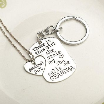 ca DCCKTM4 Jewelry Stylish New Arrival Shiny Gift Keychain Chain Home Gifts Accessory Necklace [8026346503]