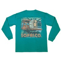 Knee Deep in the Marsh Long Sleeve Tee by Southern Fried Cotton