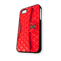Chanel Red Wallet (2) iPhone 5/5S Case