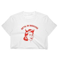 Devil in Disguise Crop Top