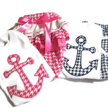 Twin Baby Boy and Girl Outfit - Newborn twin Clothes - Twin Bodysuit and Diaper Cover Set - Twin Boy and Girl Gift Set