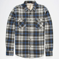 Coastal Magic Mens Flannel Shirt Grey  In Sizes