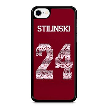 Stiles Quote Jersey Stilinski Iphone 8 Case