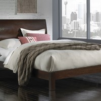 Mercury Row Apollo Curved Headboard & Bed Set