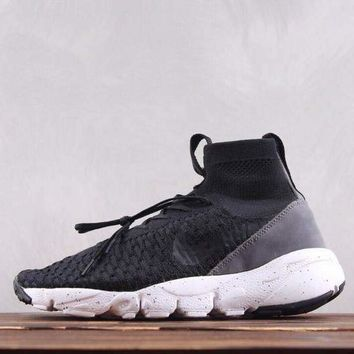 HCXX N258 Nike Air Footscape Magista Flyk Running Shoes Black Grey