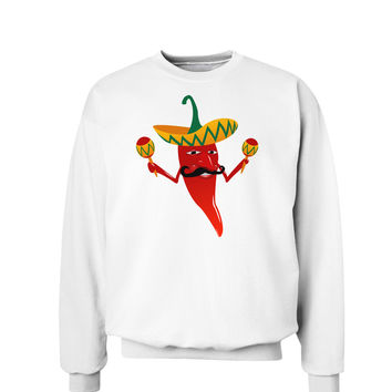 Red Hot Mexican Chili Pepper Sweatshirt