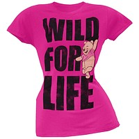 Winnie The Pooh - Wild For Life Juniors T-Shirt
