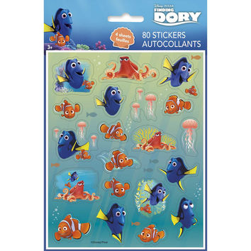 Finding Dory Party Sickers [4 Sheets]