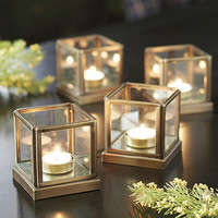 Set of 4 Lt Le Marais Tealight Holders | Ballard Designs