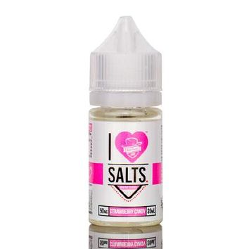 I Love Salts by Mad Hatter - Strawberry Candy (30ml)