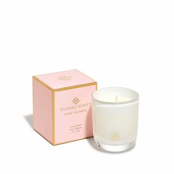 Kendra Scott Rose Quartz Small Votive Candle
