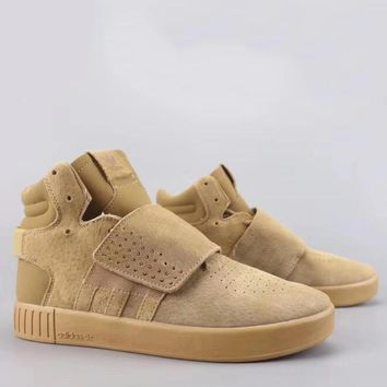 Adidas Tubular Invader Strap Fashion Casual High-Top Old Skool Shoes-16