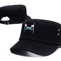 RHXING Markiplier Fangir Logo Adjustable Embroidery Unisex Leisure Fitted Cap Casual Flat Hat