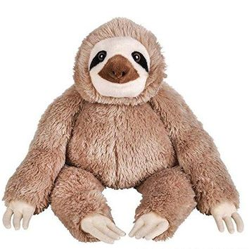 "Wildlife Tree Huge 14"" Stuffed Sloth Zoo Animal Plush Floppy Collection"