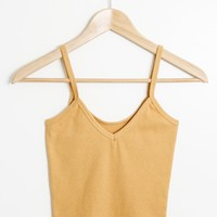 Kenny Crop Tank - Dijon