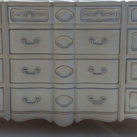 Vintage French Provincial Dresser by Angelus Furniture Manufacturing Company