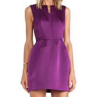 Cameo Plexus Dress in Purple