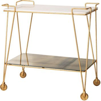 Luxe Drinks Trolley | The Luxe Collection | Oliver Bonas