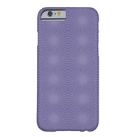 Light Purple Starbursts Barely There iPhone 6 Case