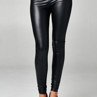 Out And About Pleather Legging