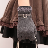 2014 New Autumn &amp Winter Women gloves Winter Knit Warm gloves = 1957992772
