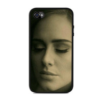 Adele Potrait Face Hello Actress Iphone 4s Case