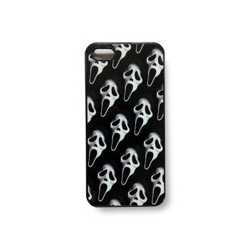 90s scream face ghostface club kid grunge killa iphone case iphone 5 5s 4 4s 5c