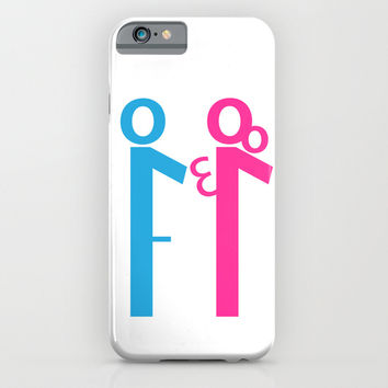 Il terzo incomodo iPhone & iPod Case by Shu | Formanuova