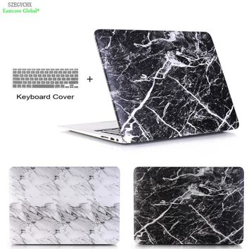 Marble Pattern For Apple MacBook Air 13 11 Pro Retina 12 13 15 for macbook New Pro 13 15 New Touch Bar shell for Macbook Air 13