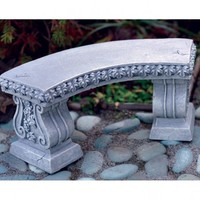 Curved Bench - My Fairy Gardens