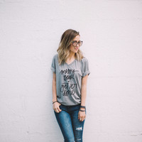 Messy Bun Tee - Chelcey Tate Designs