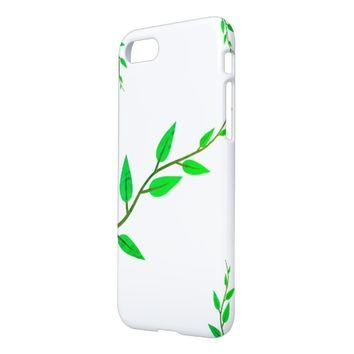 Stylish Green Leaves IPhone 8/7 Phone Case Cover
